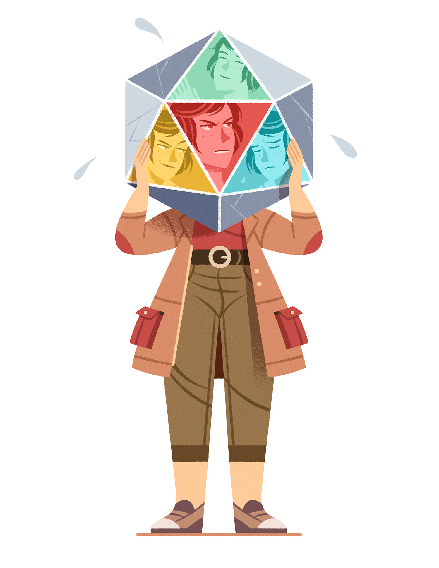 Polyhedral personality