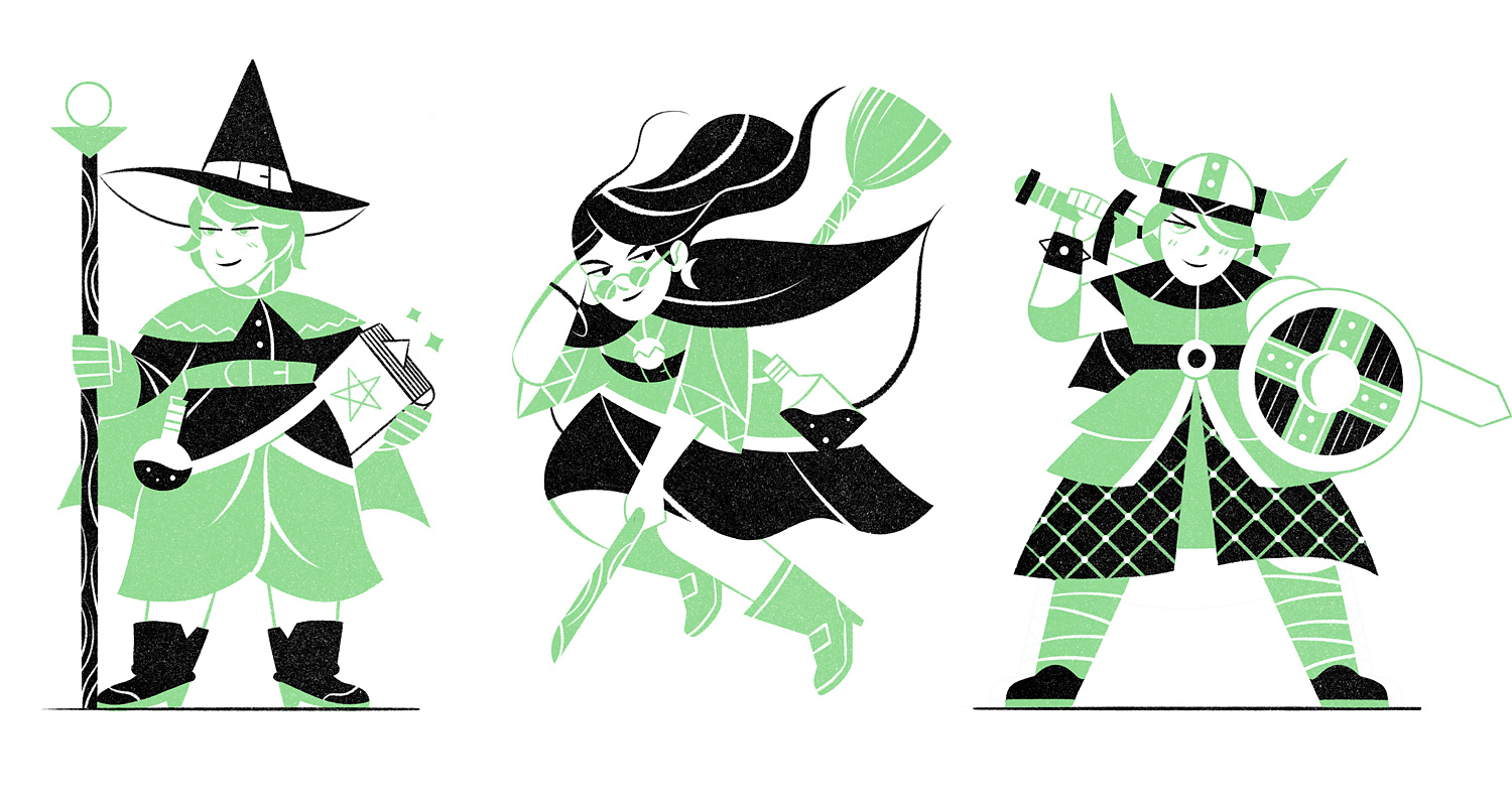 Little Fantasy Characters