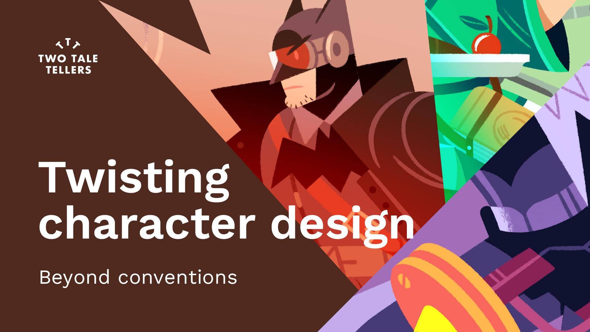 Raúl Gil – Twisting Character Design