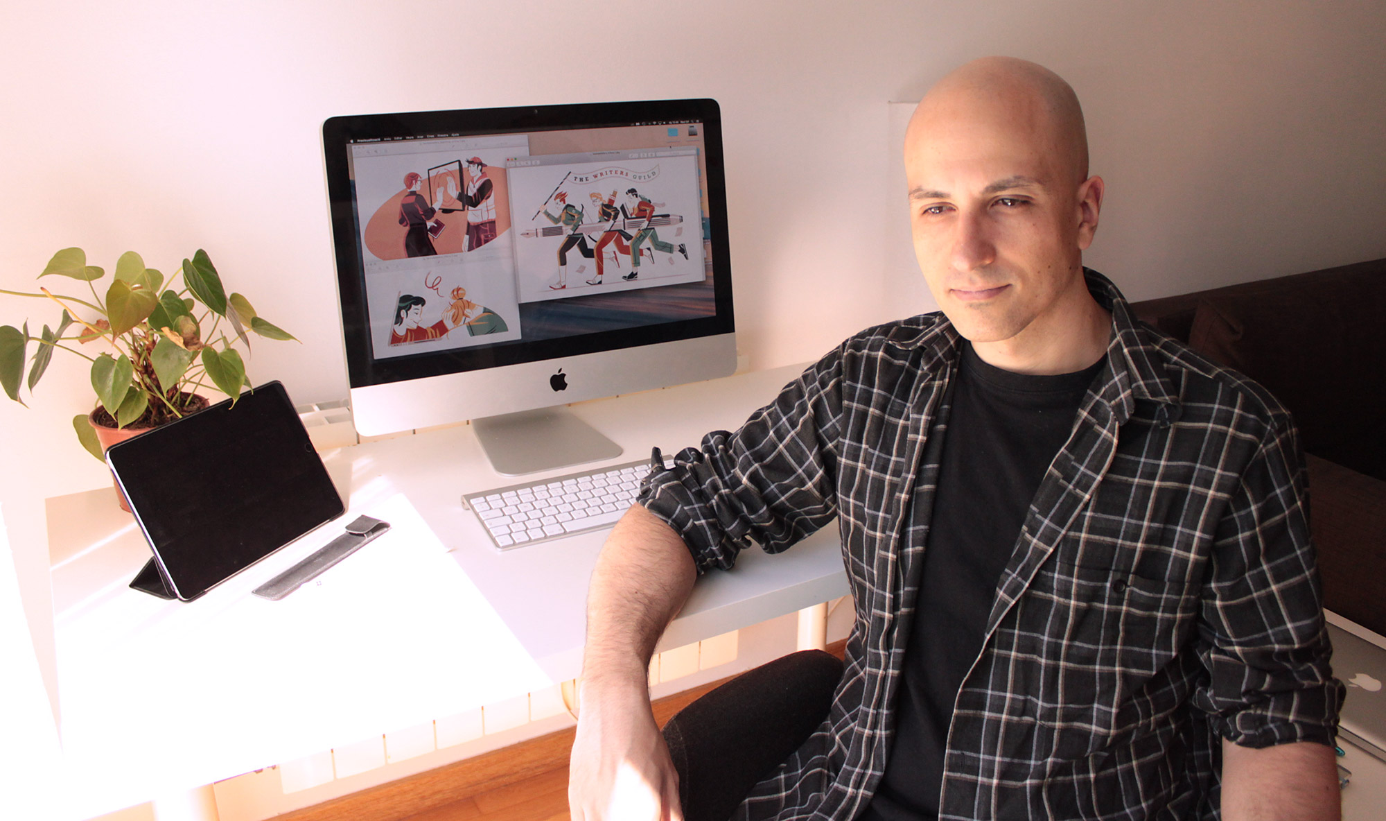 Raúl Gil – Illustrator and designer