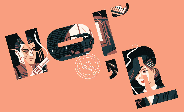 Raúl Gil – Typography & illustration